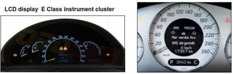 Instrumentenpaneel W 211 / E Class