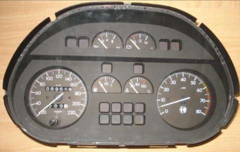 alfa romeo dashbord