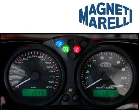 Snelheidsmeter: Ducati Monster